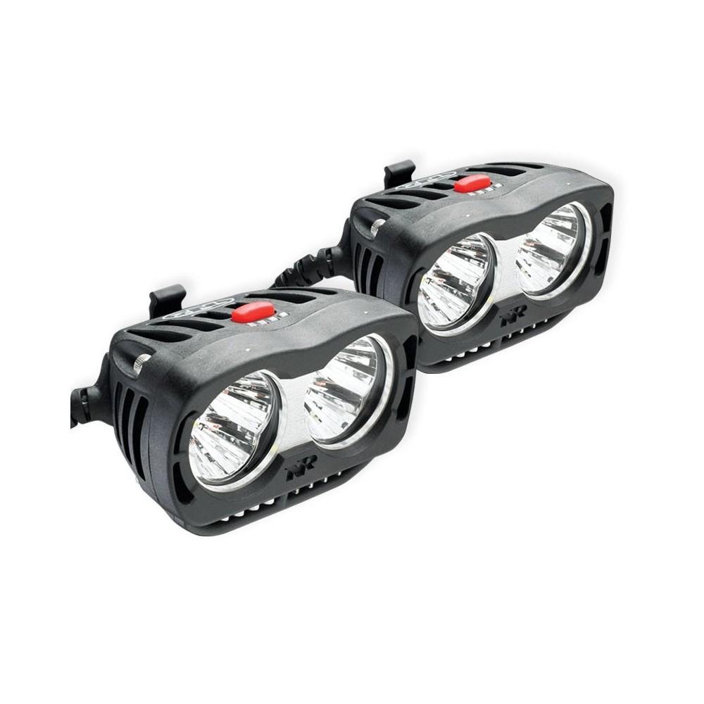 Verwonderend Verstralers set LED NITERIDER ADV 3600 voor motoren TecnoGlobe Belgie BX-45
