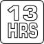 13 heures d'autonomie