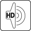 Haut-parleurs stéréo HD ultra-fins