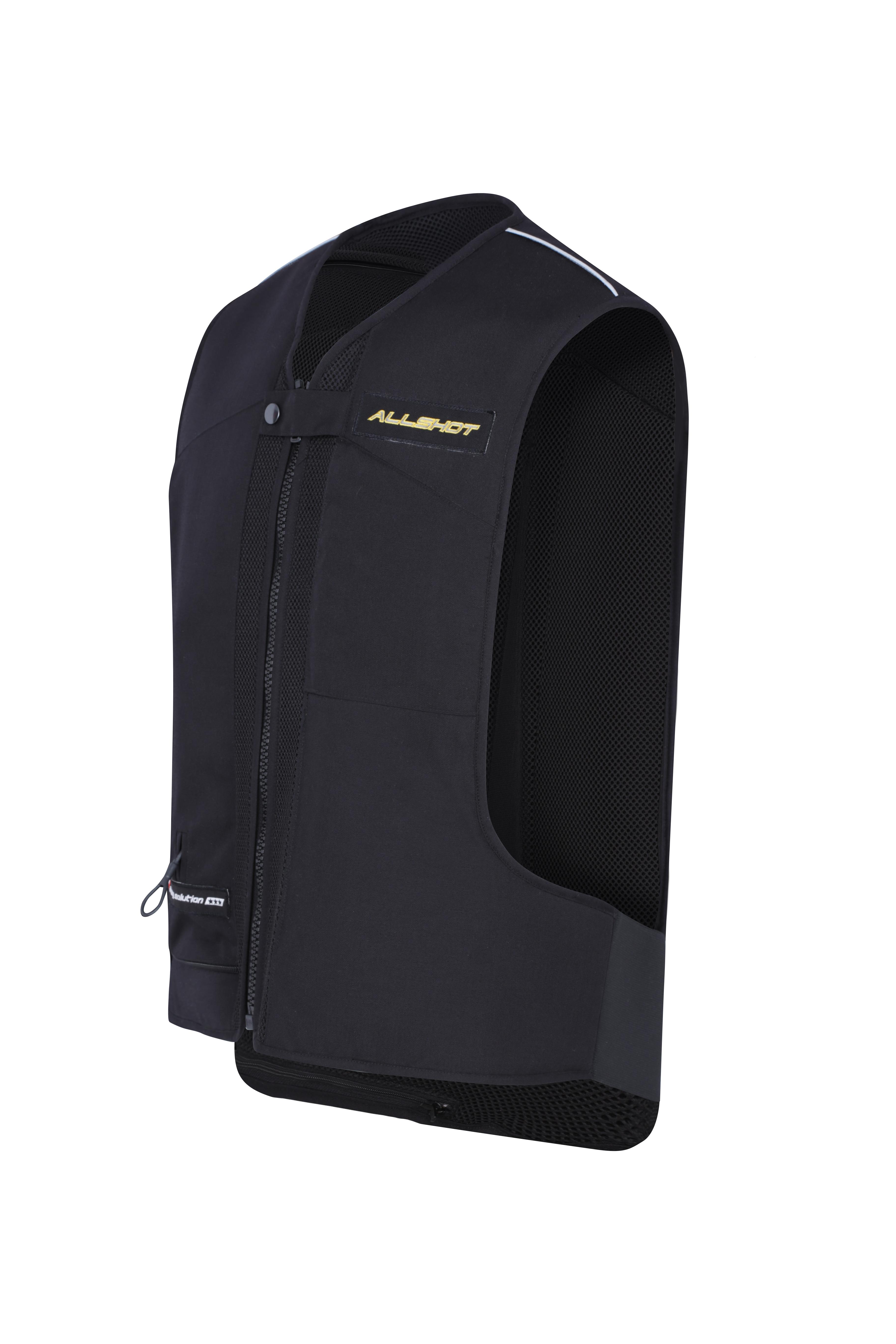 Gilet airbag allshot BUMPER noir