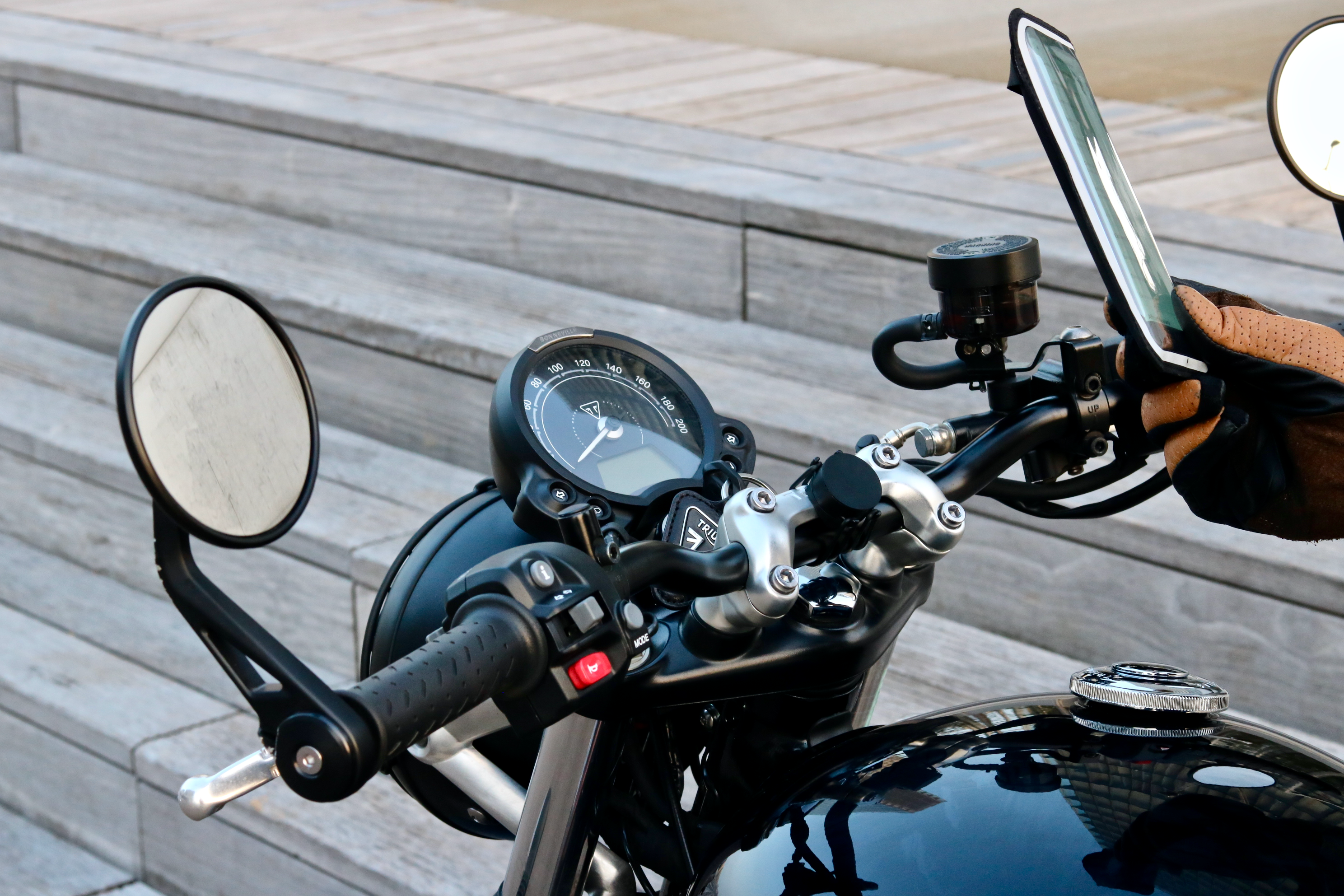 motorcycle magnetic phone holder