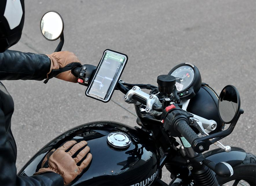 motorcycle magnetic cell phone holder