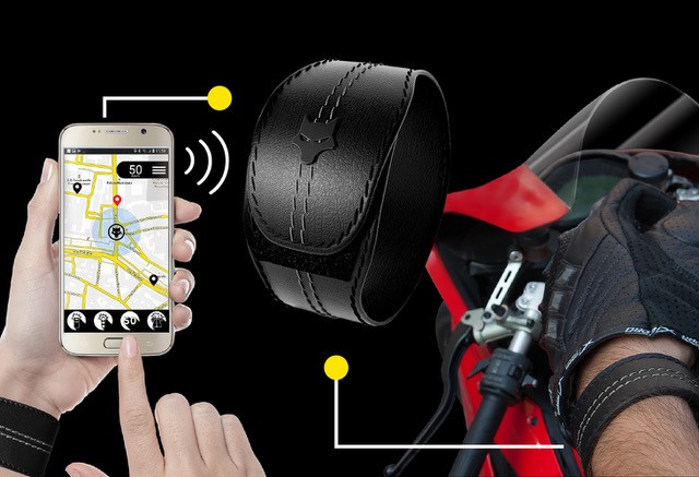 Woolf anti speed cam system for Bikers